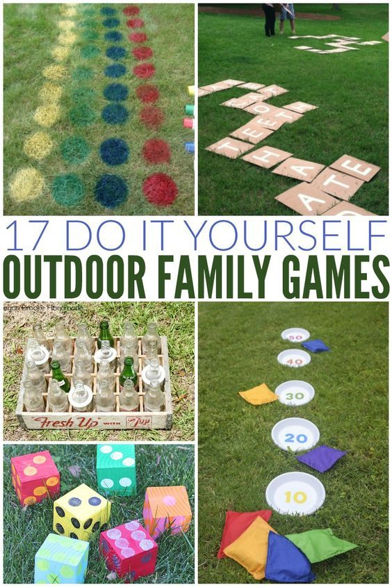 Fun summer outdoor game ideas that are perfect for a party, BBQ, family reunion,...