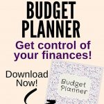 Grab the printable Budget Planner to help you better manage your finances. You w...