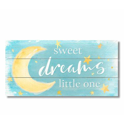 Harriet Bee Chaput Sweet Dreams Letter Color: