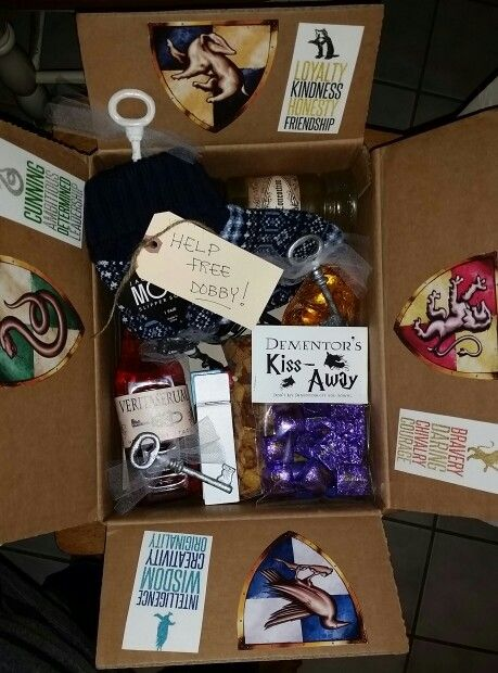 Harry Potter College Care Package
