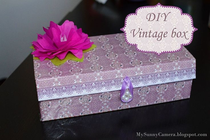 Hi, everyone! Who doesn't like vintage and shabby chic?! Right? :) I turned ...