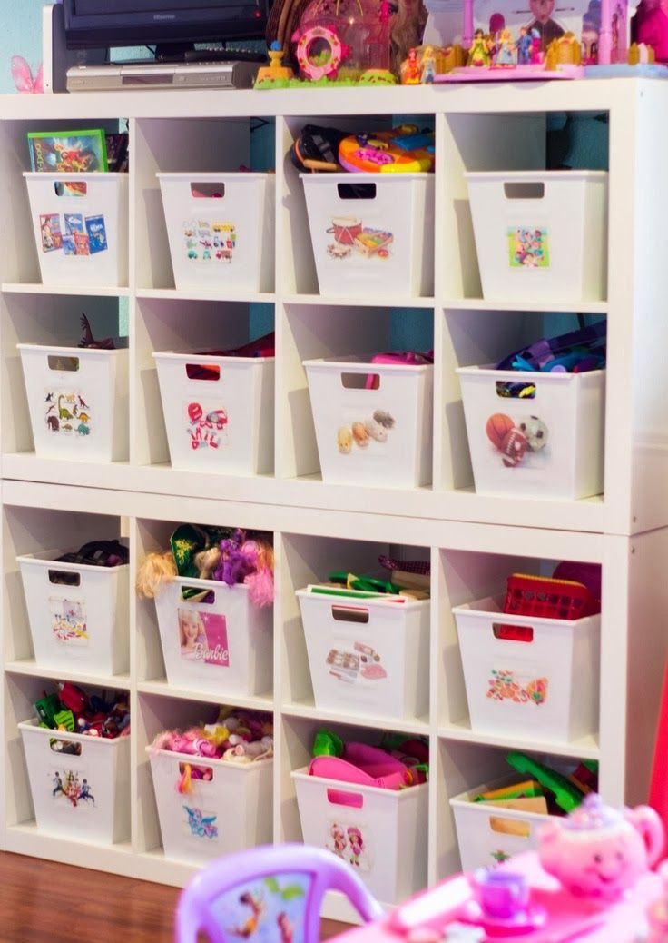 Home Decor Ideas: Pictures for labels so its easier for kids to put stuff away