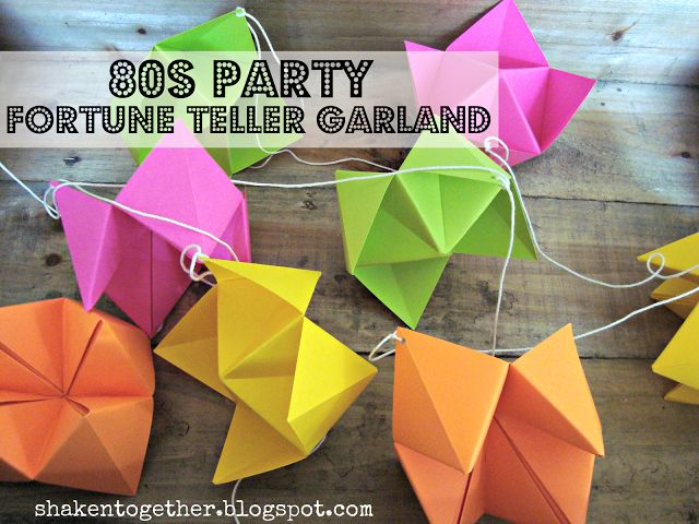 Hosting an 80s party? Then you, like, totally need to make this DIY 80s party fo...