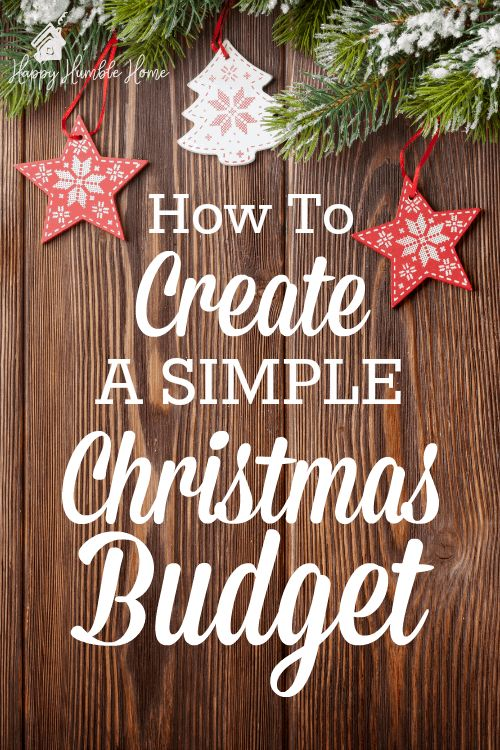 How to Create a Christmas Budget - Learn how to figure out how much you'll need ...
