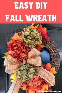 How to Make a Beautiful Fall Wreath in 15 Minutes | Grace Monroe Home