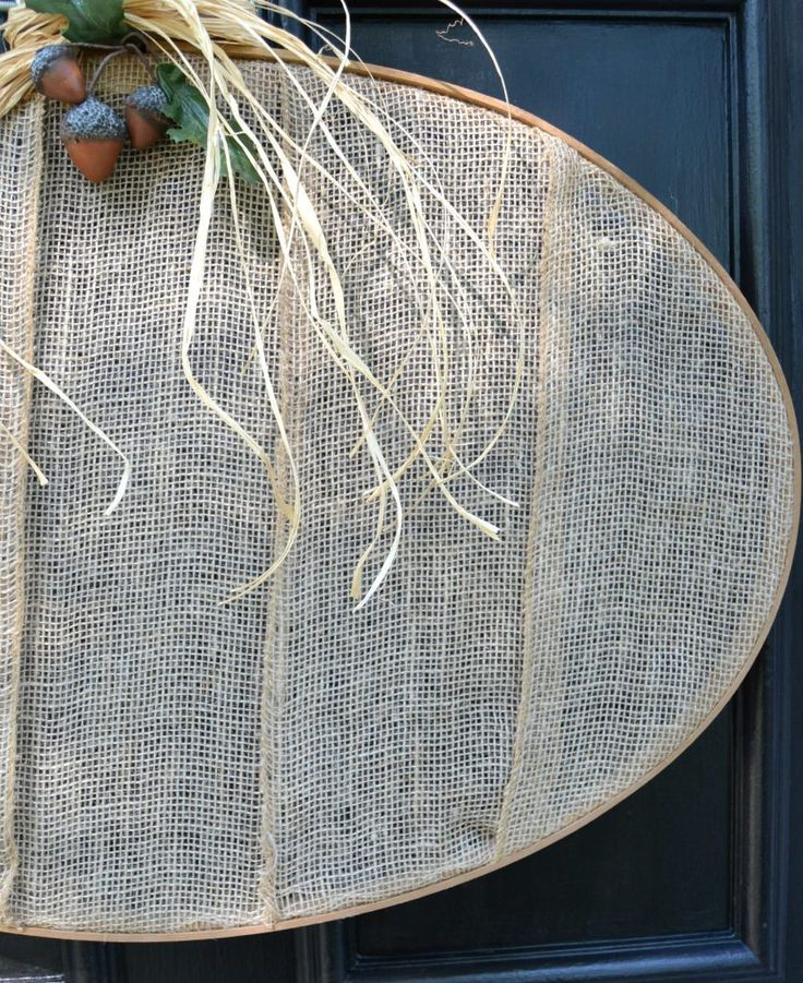 If you like fall wreaths, but are looking for something a little different for t...