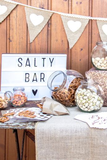 In line with the trend: A Salty Bar as a hearty alternative to the Candy Bar at Ho ...
