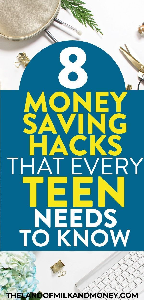 I've been trying to figure out how to save money as a teenager so these money sa...