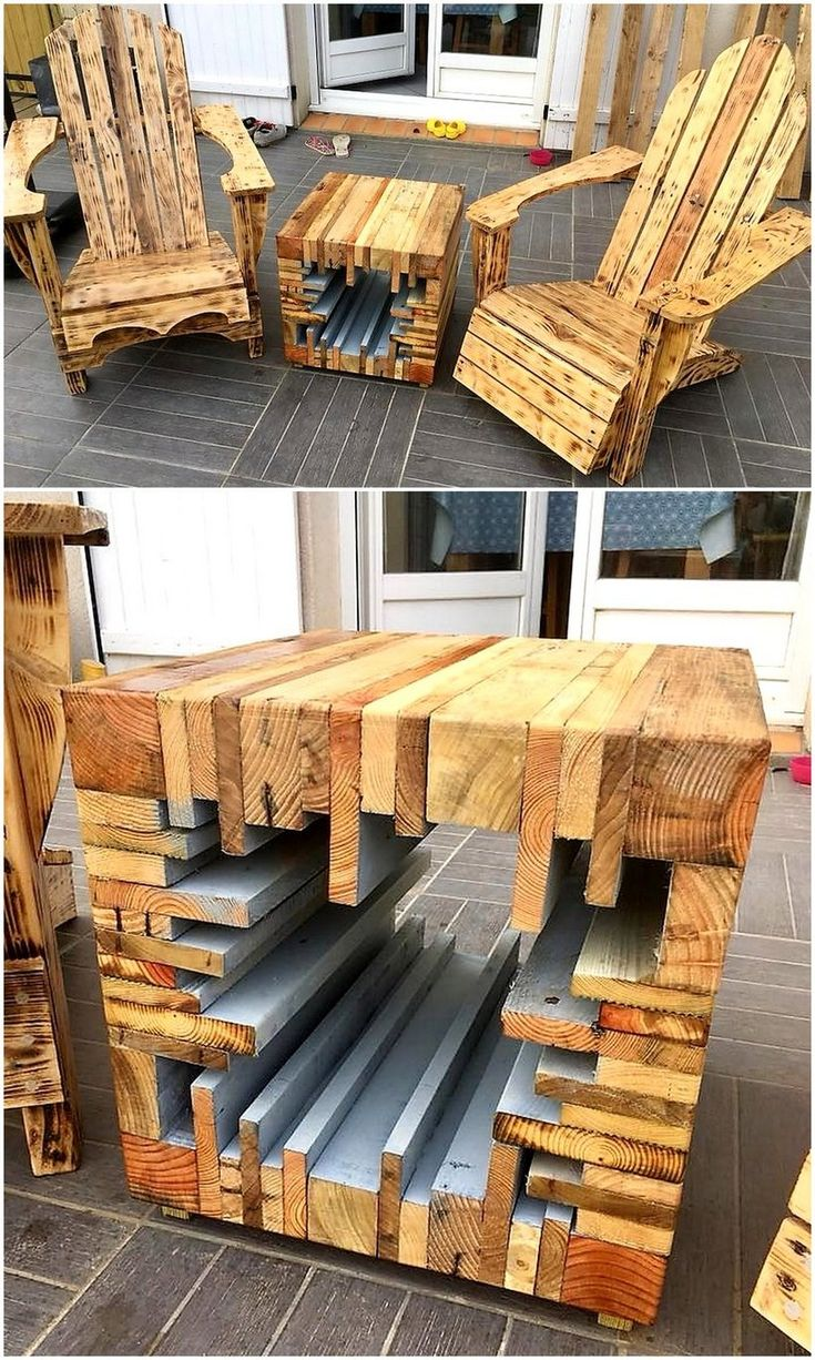 Let's start crafting another eye-catching pallet wood idea that is shown below...