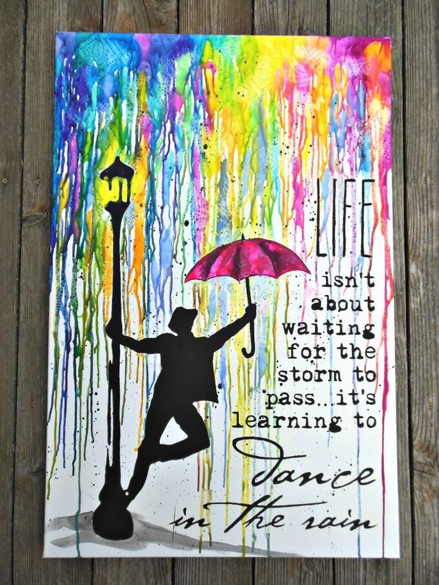 """""""Life isn't about waiting for the storm to pass, it's about learning to ..."""