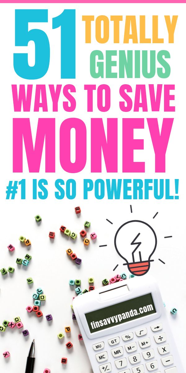Looking for the best money saving tips? Here are 50 INSANELY GENIUS ways to save...