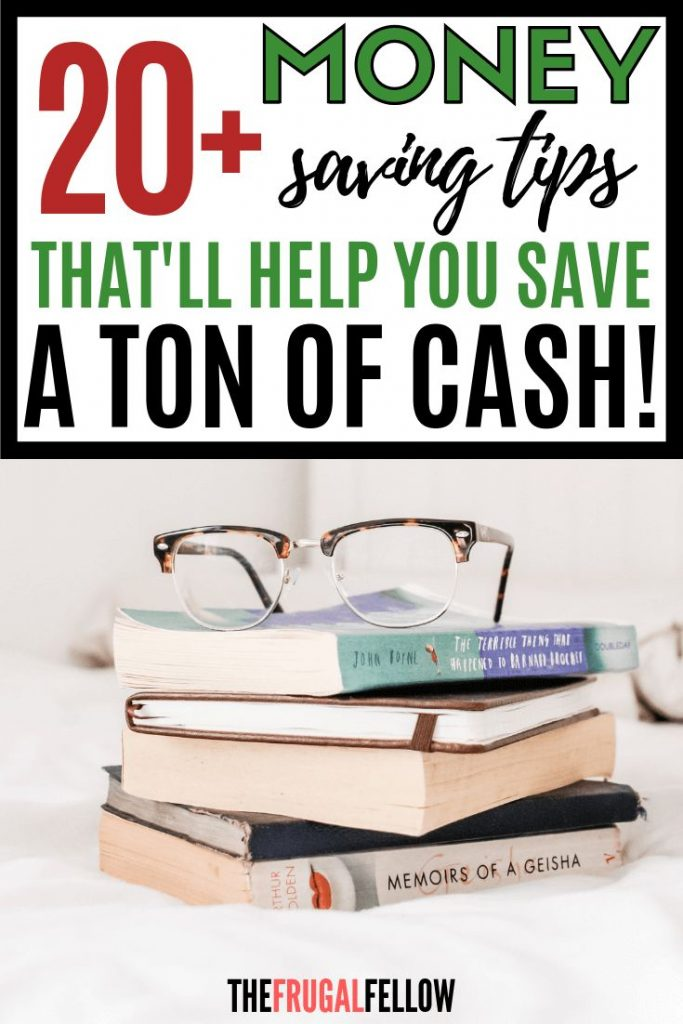 Looking for ways to save money? These money saving tips will leave you with tons...