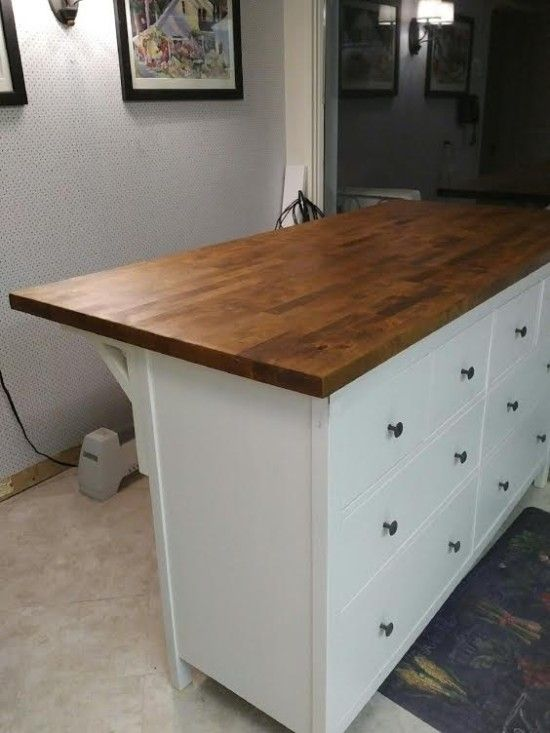 Lori puts the HEMNES 8-drawer chest to work in the kitchen.