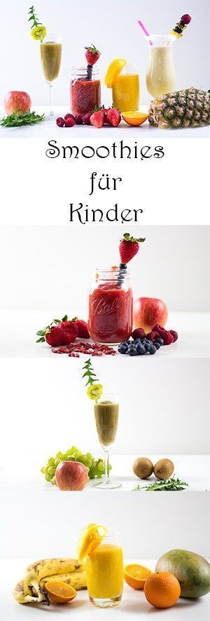 Making smoothies for children - Recipes - Snacks for children - easy and ...