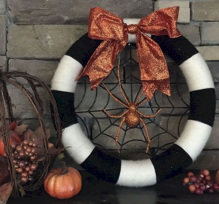 Marvelous Best Ideas To Create Fall Wreaths Diy: 115+ Handy Inspirations goodsgn...