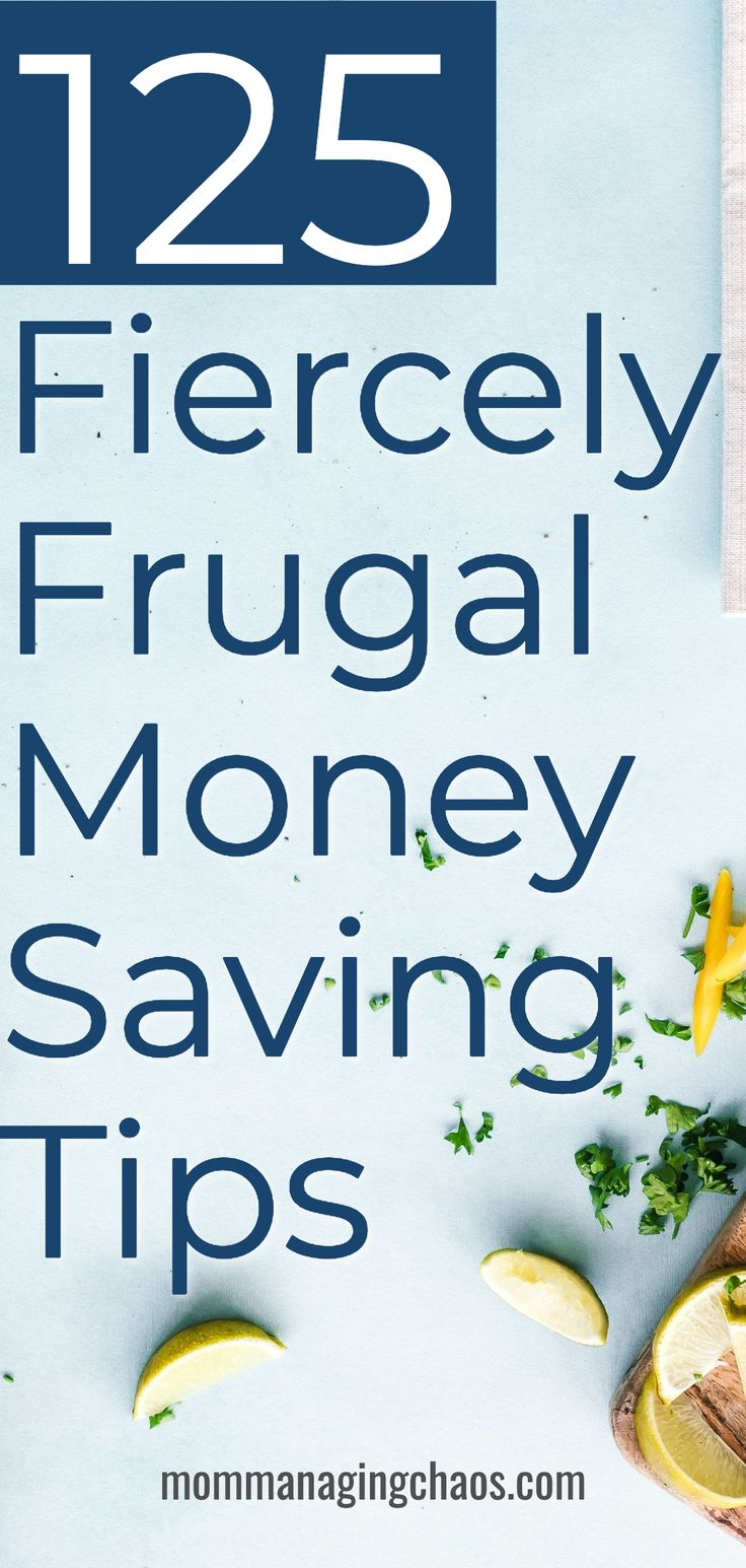 Need to save quick? Check out these saving money tips to get fiercely frugal wit...