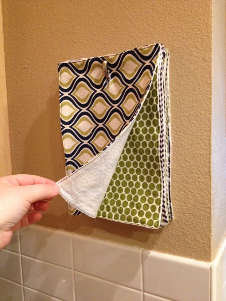 No More Paper Towels My craft goal for this holiday break was to make myself a s...
