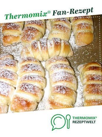 Pudding croissants by Angeleyes3375. A Thermomix ®️️ recipe from the category ...