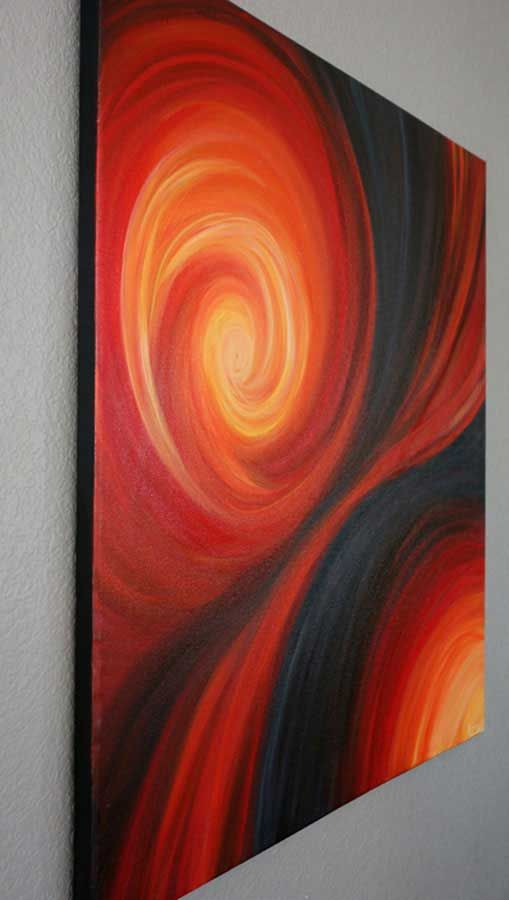 Purchase Passion's Dance Abstract Painting in the Liz W Art Gallery! Origina...