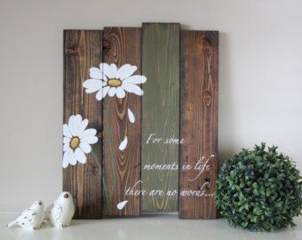 Reclaimed wood wall art Aloha Hawaiian Island von TinHatDesigns