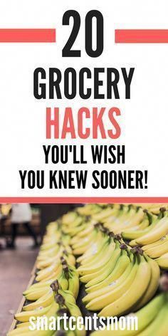 Save Money on Groceries with these grocery hacks! You don't need coupons to star...