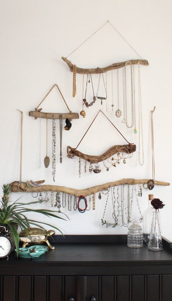 Show off your jewelry on our wall-bohemian wood organizers and use them to ...
