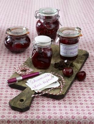 The recipe for Black Forest cherry jam and other free recipes ...
