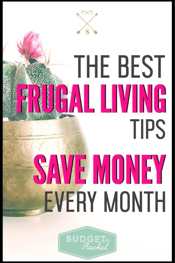 These frugal living tips are amazing! I had no idea how much money I was wasting...