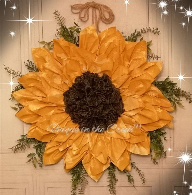 You can make a gorgeous wreath out of anything! For this beauty, I used a vinyl ...