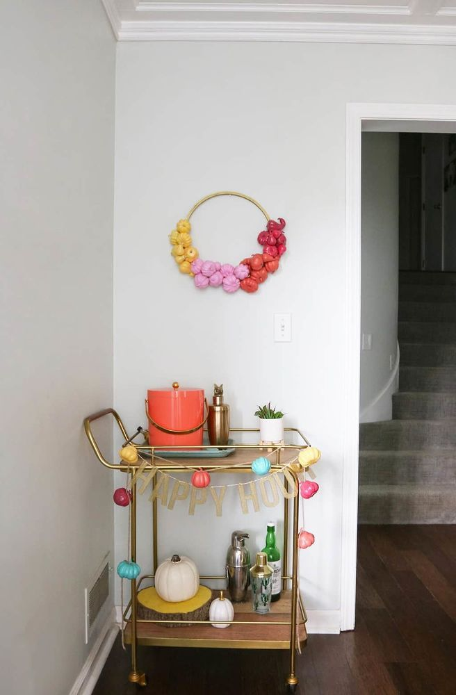 I am so excited for fall! How about you? I made a  DIY pumpkin wreath—my first...