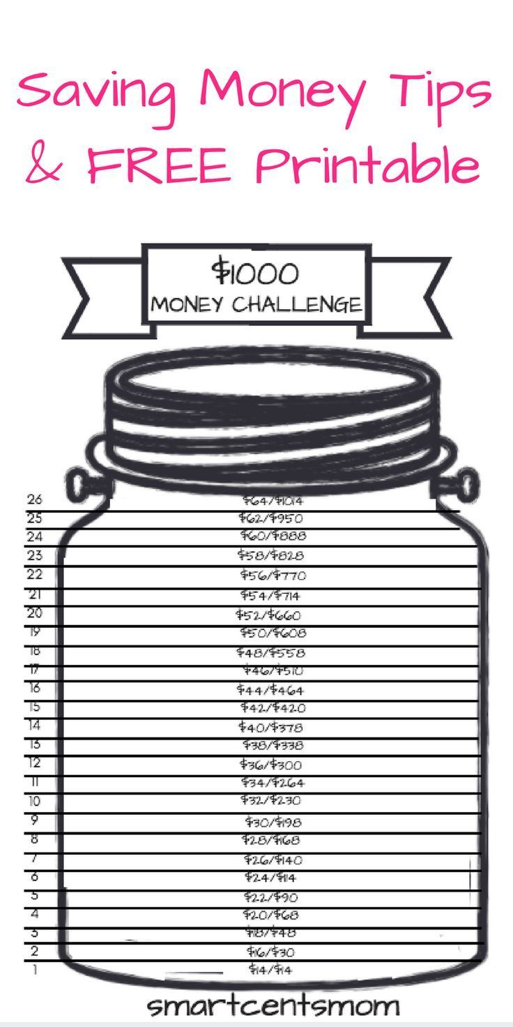 Saving Money Challenge: Do you need tips to save $1000? You can save money fast ...