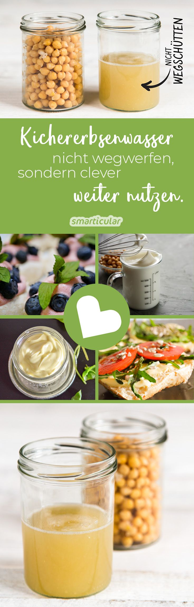 From chickpea water, many treats can be produced, for example May ...